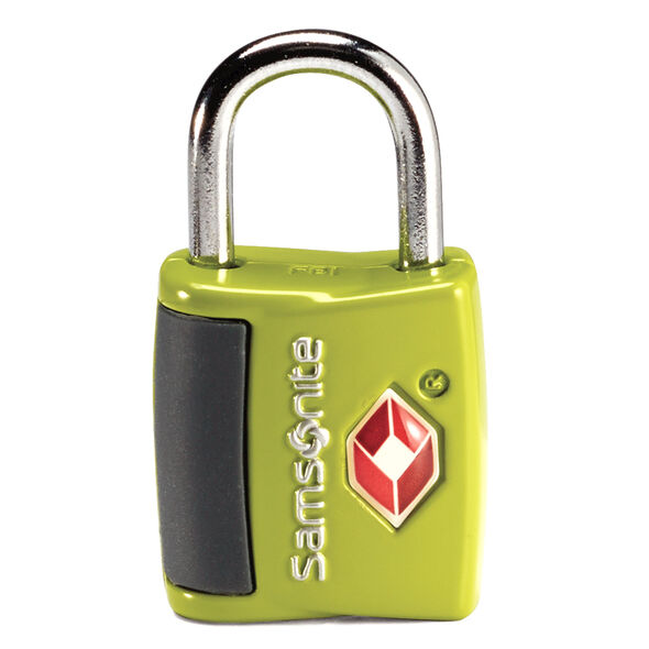 Samsonite Travel Sentry Key Lock ( Set of 2) in the color Neon Green.