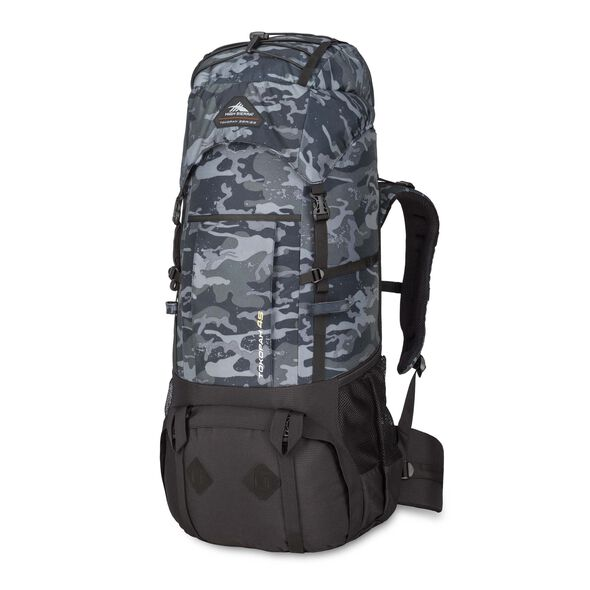High Sierra Tokopah 45L Pack in the color Camo/Black.