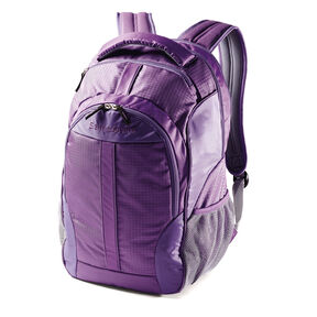 Samsonite Foxboro Backpack in the color Purple.