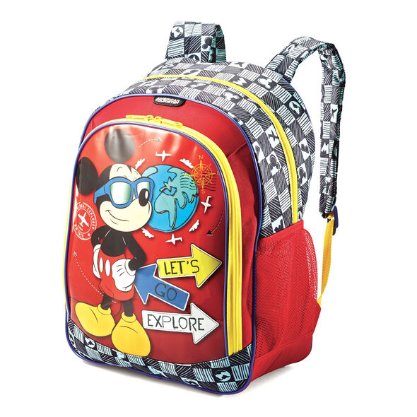 American Tourister Disney Backpack in the color Mickey Mouse.