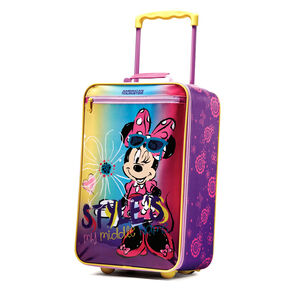 "American Tourister Disney 18"" Softside Upright in the color Minnie Mouse."