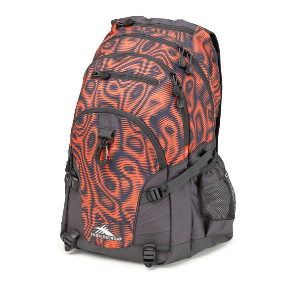 High Sierra Loop Backpack in the color Mercury Faze.