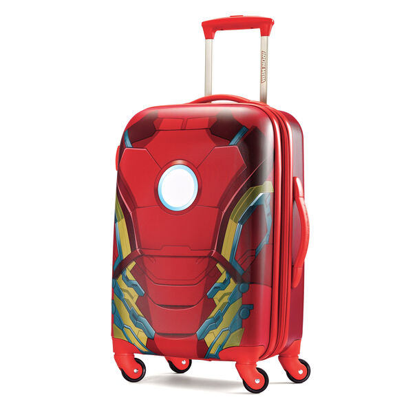 "American Tourister Marvel All Ages 20"" Spinner in the color Iron Man."