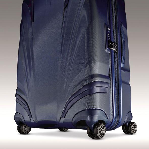 """Samsonite Silhouette XV 21"""" Hardside Spinner in the color Twilight Blue."""