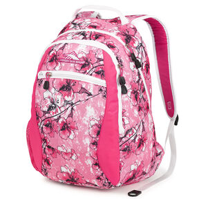 High Sierra Curve Backpack in the color Summer Bloom/Fuchsia.