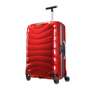"Samsonite Black Label Firelite 28"" Spinner in the color Chili Red."