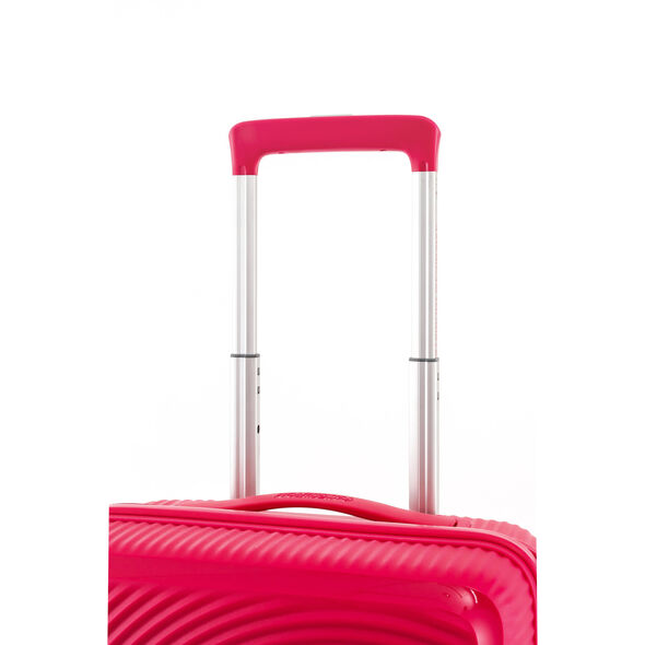 "American Tourister Curio 25"" Spinner in the color Pink."