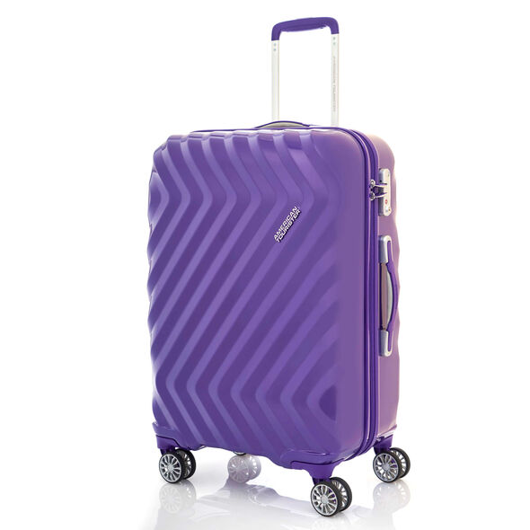"Z-Lite DLX 28"" Spinner in the color Moonrise Purple."