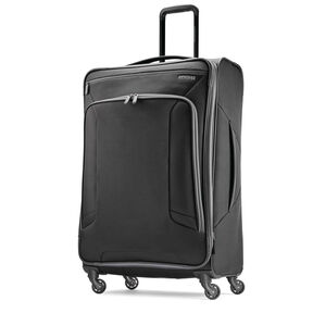 """American Tourister 4 Kix 28"""" Spinner in the color Black/Grey."""