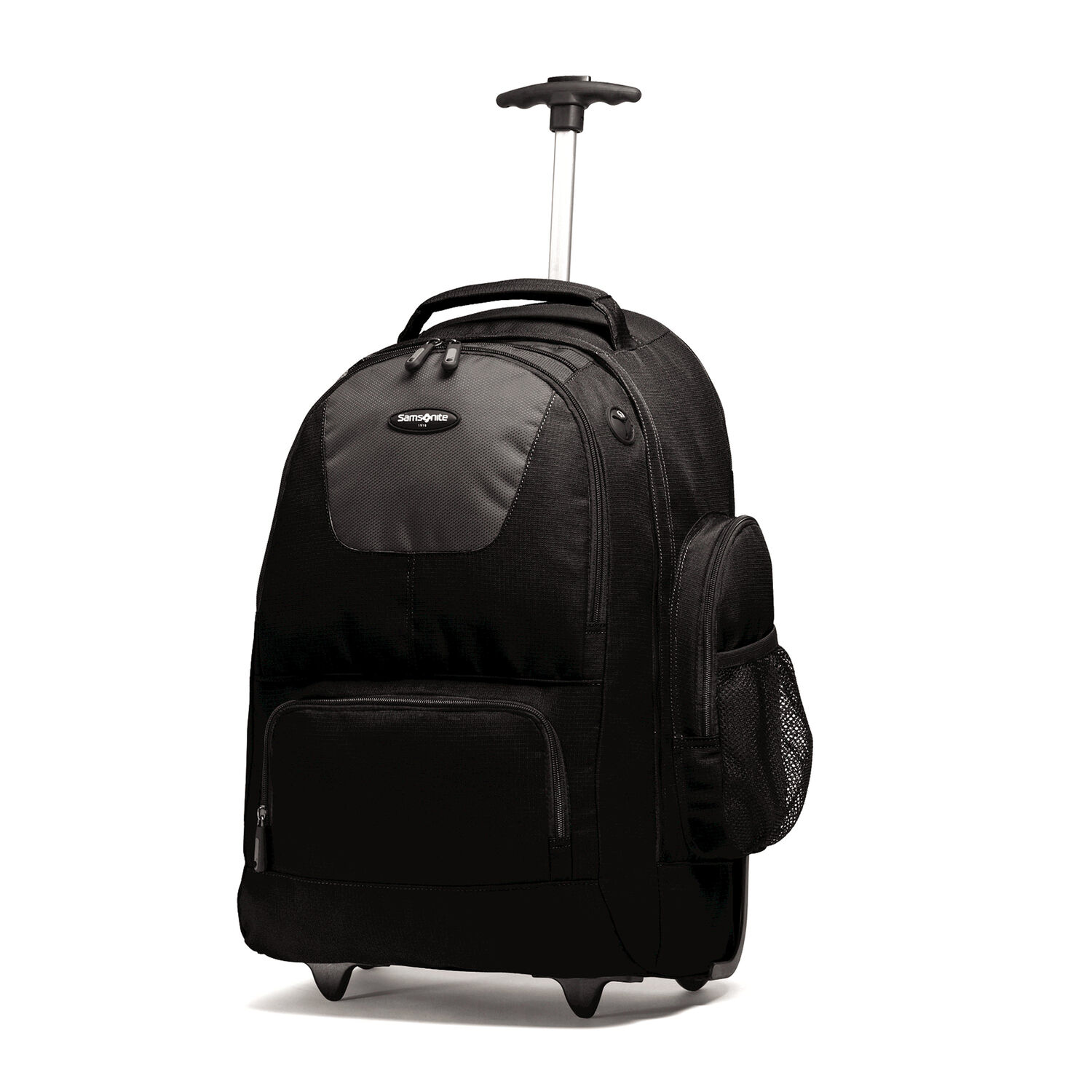 School bag with wheels singapore - Samsonite Wheeled Computer Backpack In The Color Charcoal Black