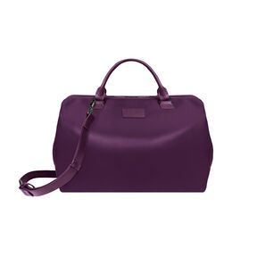 Lipault Lady Plume Bowling Bag M in the color Purple.