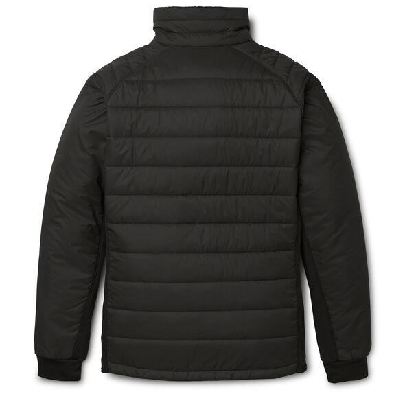 High Sierra Men's Molo Hybrid Jacket in the color Black.