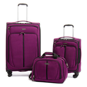 Samsonite Emissary 3 Piece Set in the color Purple.