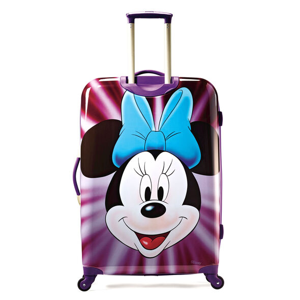 "American Tourister Disney Minnie Mouse 28"" Hardside Spinner in the color Minnie Mouse Face."