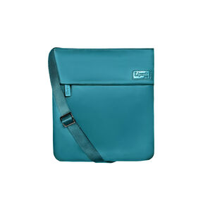 Lipault City Plume Crossover Bag M in the color Duck Blue.