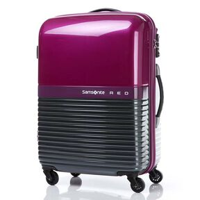 "Samsonite Red Robo 28"" Spinner in the color Purple/Grey."