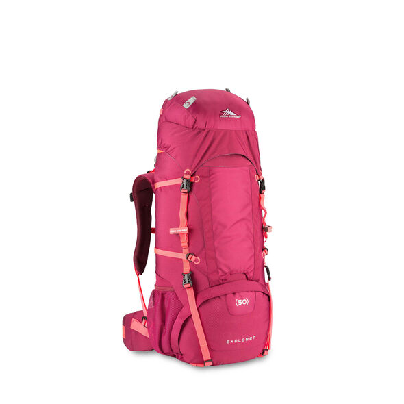 High Sierra Classic 2 Series Explorer 50W Frame Pack in the color Dahlia/Diva.