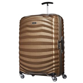 "Samsonite Lite-Shock Spinner Large (28"") in the color Sand."