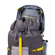 High Sierra Classic 2 Series Explorer 55 Frame Pack in the color Mercury/Ash/Yellow.