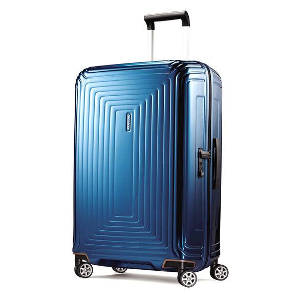"""Samsonite NeoPulse 28"""" Spinner in the color Metallic Blue."""