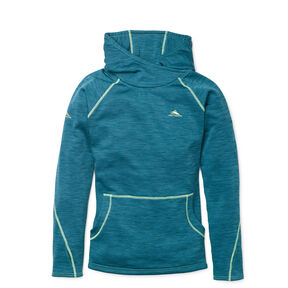 High Sierra Women's LizzE Pullover in the color Lagoon/Chartreuse.