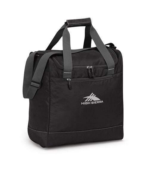 High Sierra Boot Bag in the color Black/Mercury.