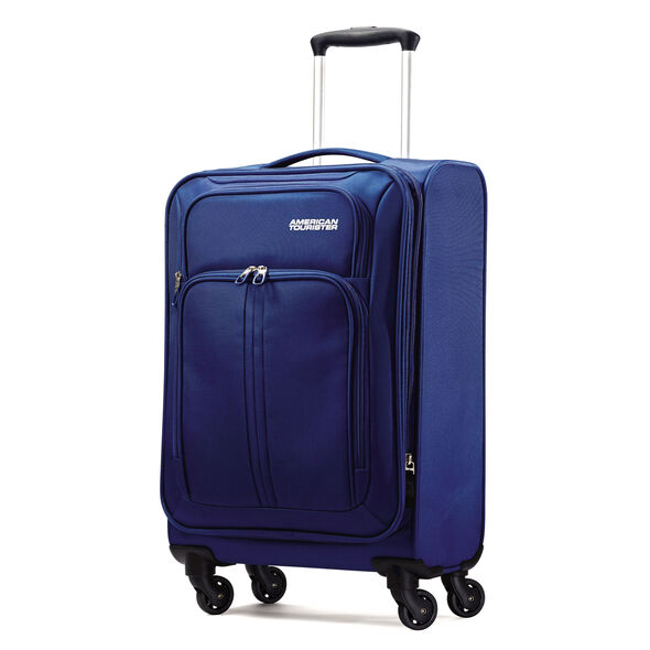 "American Tourister Splash Spin LTE 20"" Spinner in the color Blue."