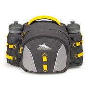 High Sierra Classic 2 Series Ridgeline Waistpack in the color Mercury/Ash/Yellow.
