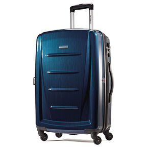 "Samsonite Reflex 2 28"" Expandable Spinner in the color Deep Blue."