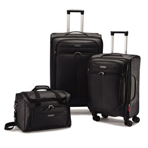 Samsonite Verana DLX 3 Piece Luggage Set in the color Black - Exclusive.