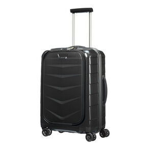 "Samsonite Black Label Lite-Biz 20"" Spinner in the color Black."