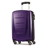 """Samsonite Winfield 2 Fashion 20"""" Spinner in the color Purple."""