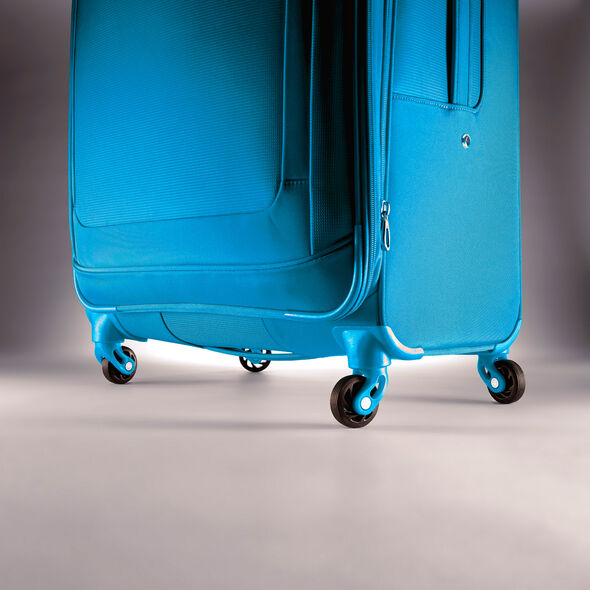"""American Tourister iLite Max 21"""" Spinner in the color Light Blue."""