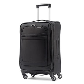 "American Tourister iLite Max 19"" Spinner in the color Black."