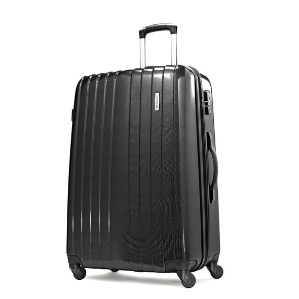 "Samsonite Carbon1 DLX 28"" Expandable Spinner in the color Silver - Exclusive."