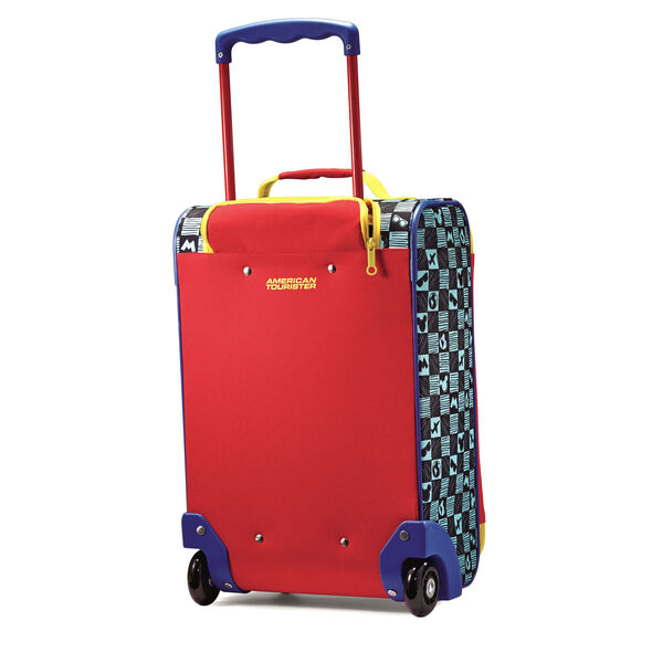 "American Tourister Disney 18"" Softside Upright in the color Mickey Mouse."