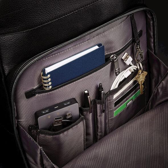 Samsonite Business Slim Backpack in the color Black.