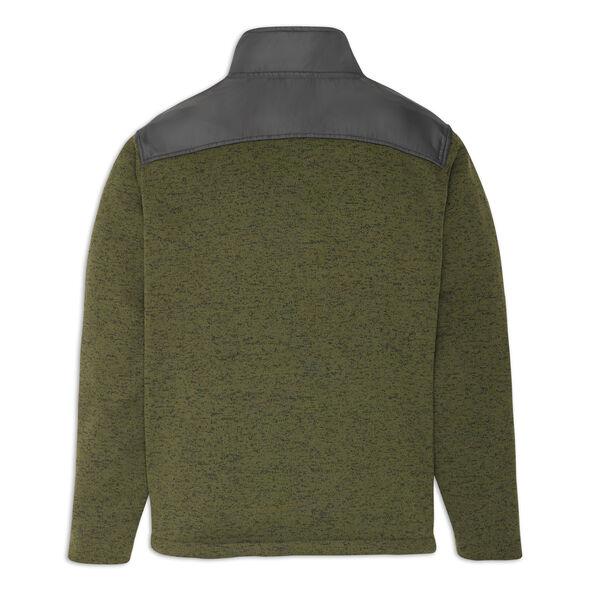 High Sierra Men's Funston II  Full Zip Jacket in the color Moss/ Mercury.