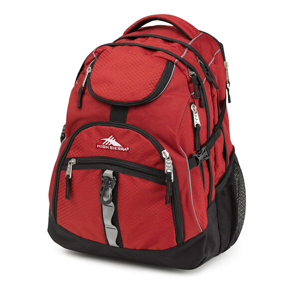 High Sierra Access Backpack in the color Brick.