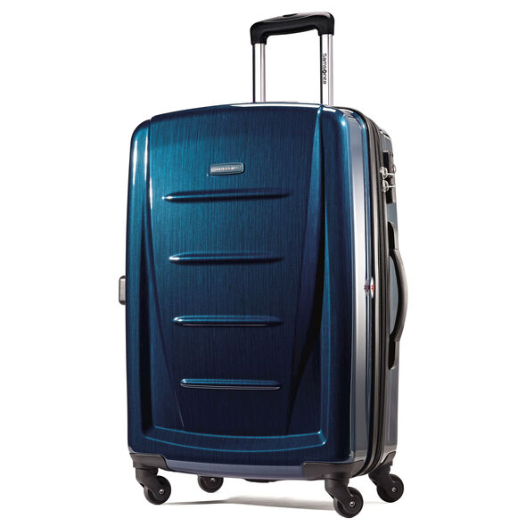 Samsonite Winfield 2 Fashion 3 Piece Spinner Set in the color Deep Blue.