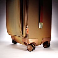 Hartmann Ratio Classic Deluxe Global Carry On Glider in the color Safari.