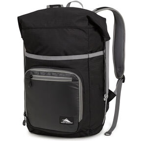 High Sierra Tethur Backpack in the color Black.