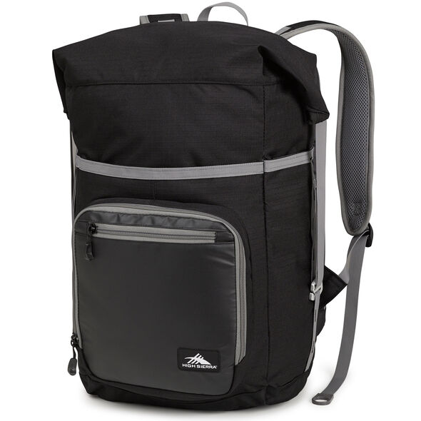 High Sierra Tethur Backpack in the color Black.