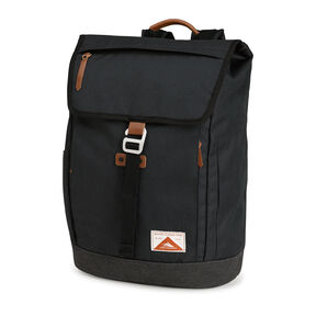 High Sierra Olmsted Elmwood Rucksack in the color Raven/Raven.