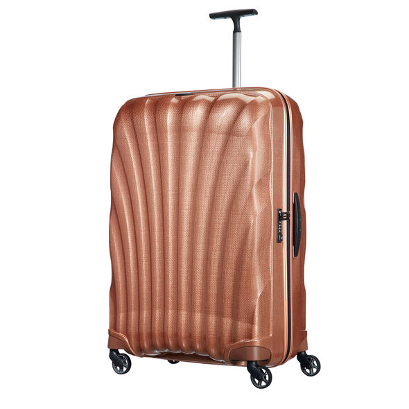"Samsonite Black Label Cosmolite 3.0 33"" Spinner in the color Copper Blush."