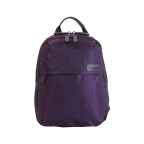 Lipault Original Plume Mini Backpack in the color Purple.