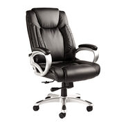 Samsonite San Mateo Big & Tall Premium Bonded Leather Chair in the color Black.