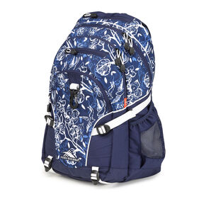 High Sierra Loop Backpack in the color Enchanted Navy.