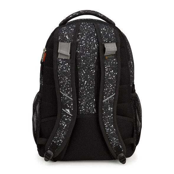 High Sierra Swerve Backpack in the color Speckle/Black.