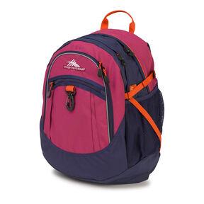 High Sierra Fat Boy Backpack in the color Razzmatazz.